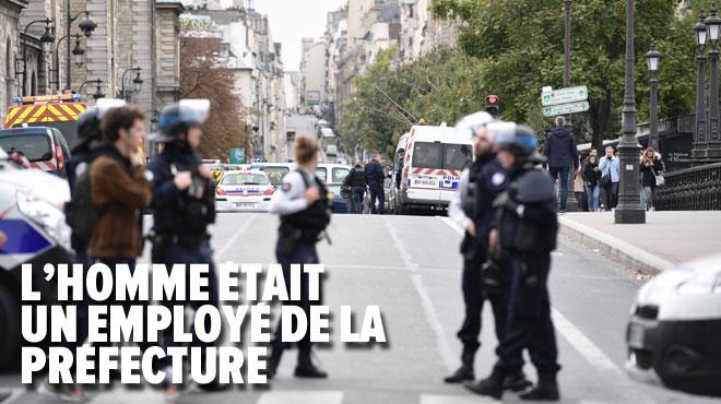 A Paris, un homme tue 4 policiers à la préfecture de police avant d'être abattu: sa femme a été placée en garde à vue