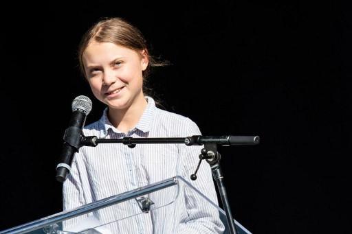 Greta Thunberg lauréate d'un prix international pour la paix décerné aux enfants