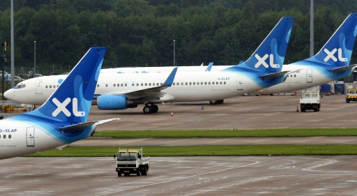La compagnie aérienne française XL Airways en liquidation
