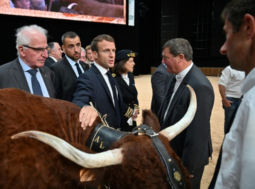 Sommet de l'élevage: Macron tance les éleveurs qui ont expulsé des députés