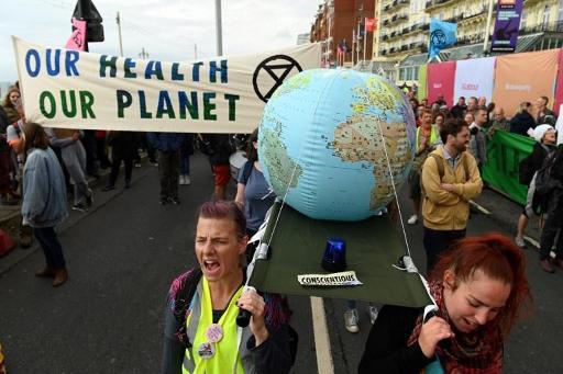 Climat - Extinction Rebellion lance une série d'actions dans le monde entier