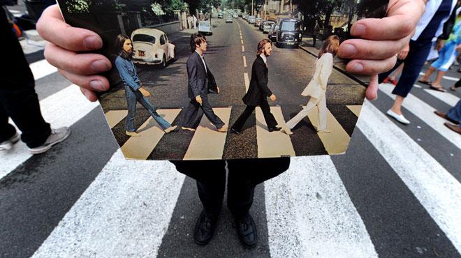 Le mythique album des Beatles