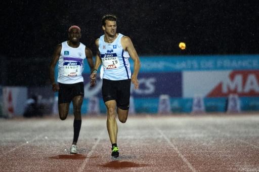 Mondiaux d'athlétisme: Lemaitre de retour pour la finale du relais 4x100 m