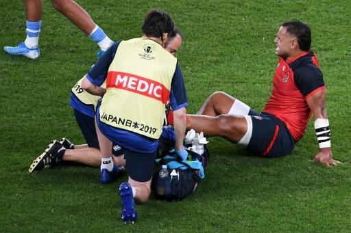 Mondial de rugby: petite entorse à la cheville pour l'Anglais Billy Vunipola