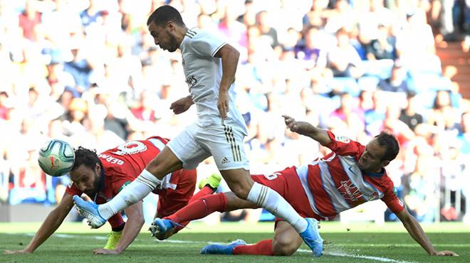 Ça y est: Eden Hazard inscrit son premier but avec le Real Madrid (vidéo)