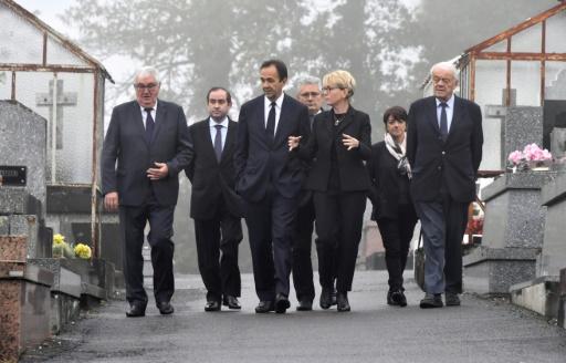 En Corrèze, une foule autour des Chirac et des pommes pour un ultime adieu à l'ancien président