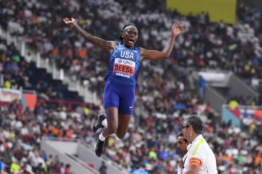 Mondiaux d'athlétisme: L'Américaine Reese, quadruple championne du monde, sortie en qualifications de la longueur
