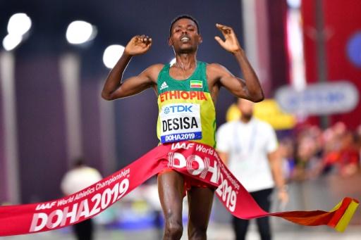 Mondiaux de marathon: Desisa écrit l'histoire