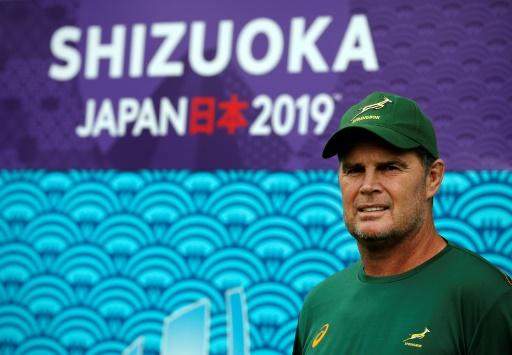 Mondial de rugby: le sélectionneur dément tout racisme chez les Springboks