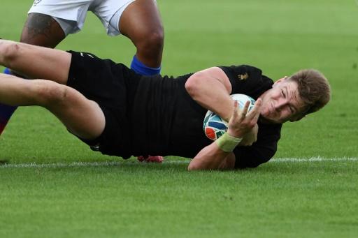 Mondial de rugby: les All Blacks surclassent la Namibie 71 à 9 et s'approchent des quarts