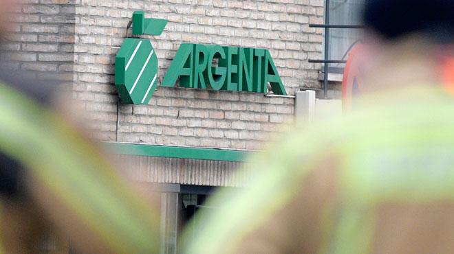 Trois malfrats attaquent une agence bancaire à l'explosif à Herselt