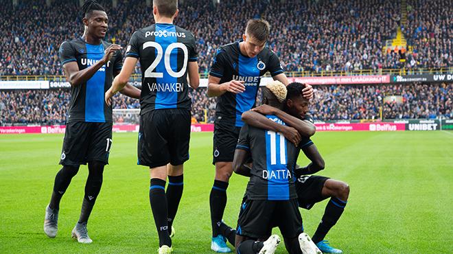 Le Club de Bruges n'a laissé aucune chance à La Gantoise