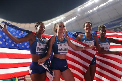 Mondiaux d'athlétisme: des performances