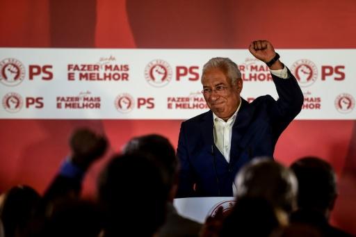 Principales forces en présence au Parlement portugais