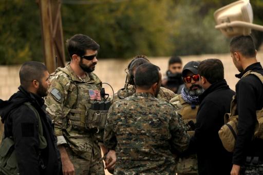 L'engagement américain en Syrie depuis 2011