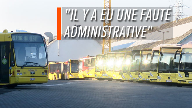 Luc ne peut pas monter dans le bus, car le véhicule est en défaut de contrôle technique: