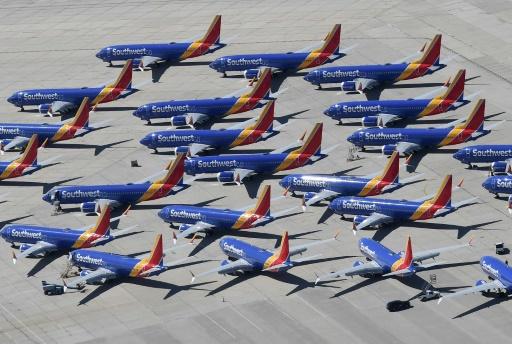 737 MAX: des pilotes de Southwest attaquent Boeing en justice