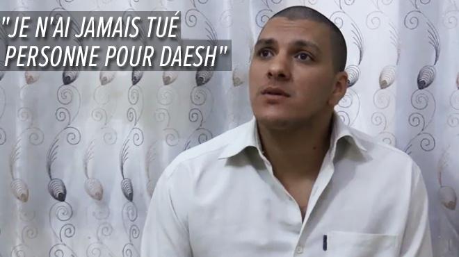 Le djihadiste surnommé 'le bourreau de Raqqa' parle: