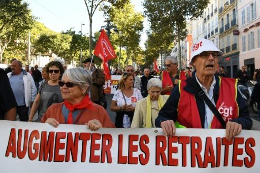 Les retraités toujours mobilisés pour