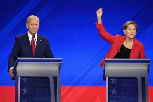 USA: Warren rattrape Biden dans la course à la primaire démocrate
