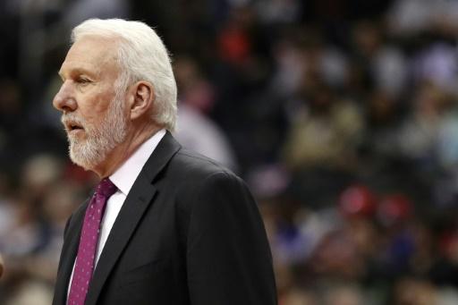 Hong Kong: Popovich, coach des Spurs,