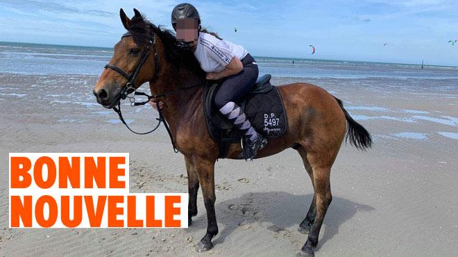 Black, le poney de Noémie, avait disparu à la Panne pendant 4 mois: qu'est-il devenu?