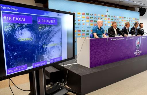 Risques naturels au Japon: après le Mondial de rugby, les JO?