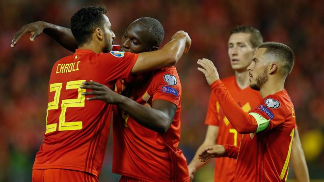 Large victoire des Diables Rouges contre Saint-Marin: la Belgique, première nation qualifiée pour l'Euro 2020
