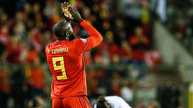 50 buts partagés avec ses proches: les jolis messages de Romelu Lukaku après son doublé contre Saint-Marin (photo)