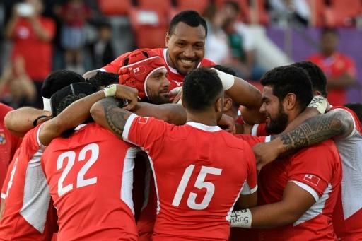 Mondial de rugby: les Tonga finissent sur une victoire laborieuse