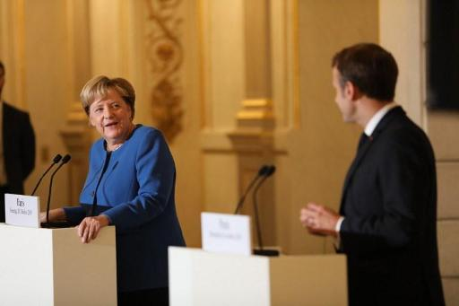 Offensive turque en Syrie - Macron et Merkel appellent la Turquie à cesser son attaque en Syrie