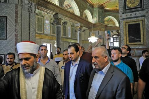 Jérusalem-Est: une délégation saoudienne visite l'esplanade des Mosquées