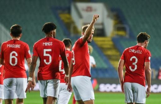 Euro-2020: l'Angleterre se balade en Bulgarie, malgré des cris racistes