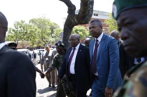 Afrique du Sud: report du procès de l'ex-président Jacob Zuma