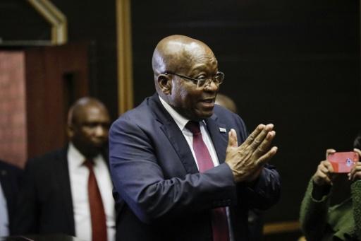 Afrique du Sud: report du procès de l'ex-président Zuma poursuivi pour corruption