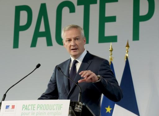 Budget: Le Maire veut concerter avant de supprimer des exceptions anti-écologiques
