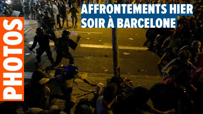 Manifestations en Catalogne après la condamnation des indépendantistes: