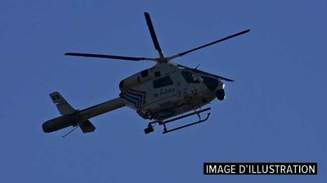 Un hélicoptère de la police dans le ciel de Gerpinnes cette nuit: que s'est-il passé?