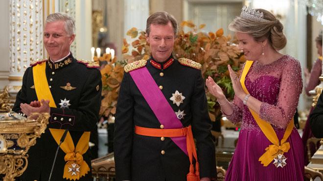 Visite d'Etat de Philippe et Mathilde au Grand-Duché de Luxembourg: les plus belles images du gala