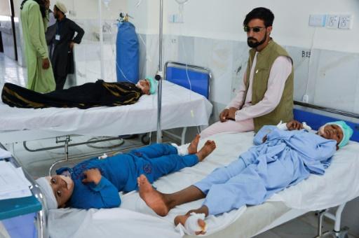 Afghanistan: trois morts et une vingtaine d'enfants blessés dans un attentat