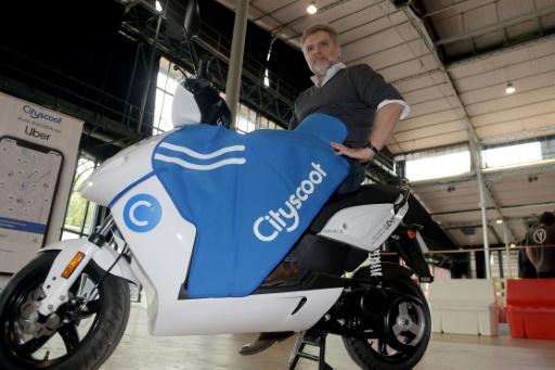 Uber va intégrer les scooters de CityScoot dans son application
