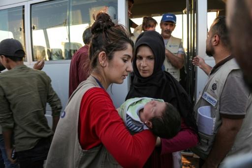 Offensive turque: près d'un millier de Kurdes de Syrie réfugiés en Irak
