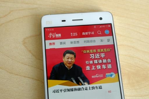 Chine: une appli du Parti communiste fouille les données de ses utilisateurs