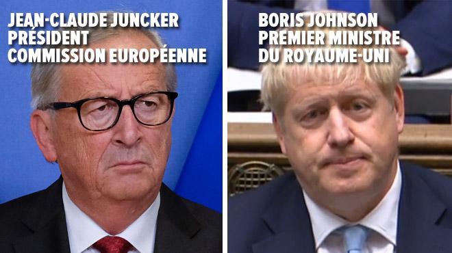 Accord sur le Brexit annoncé par Boris Johnson et Juncker: l'opposition travailliste et les unionistes nord-irlandais le rejettent
