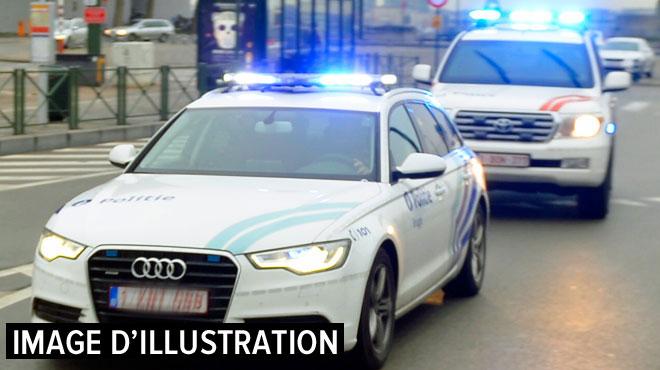 Course-poursuite à Anderlecht: le conducteur d'une Golf refuse d'obéir à la police et percute une voiture transportant une femme enceinte