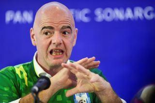 Fifa- Infantino veut une interdiction de stade mondiale contre le racisme