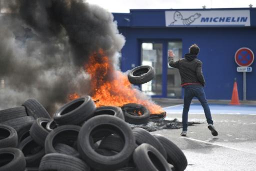 Michelin: mobilisation pour demander un moratoire sur les fermetures d'usines