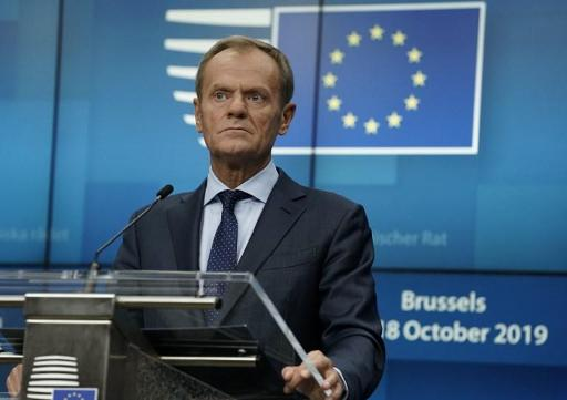 Brexit: le Conseil européen approuve le nouvel accord de retrait