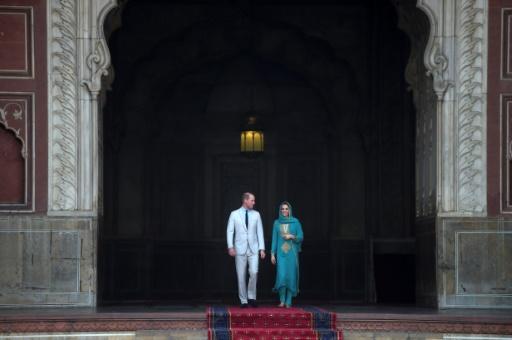 Une tempête empêche l'avion du prince William et de Kate d'atterrir à Islamabad