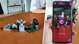 Les tests de Mathieu- Lego se lance dans la réalité augmentée pour attraper les fantômes, et c'est un peu compliqué